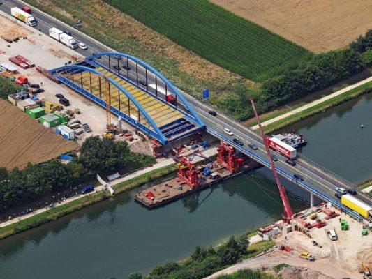 A6 Rhein-Main-Donau-Kanal (Brückeneinschub)