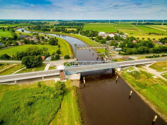 Klappbrücke über die Hunte (Fotograf Andreas Lander)