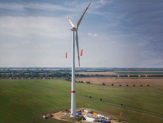 Windkraftturm Krakow