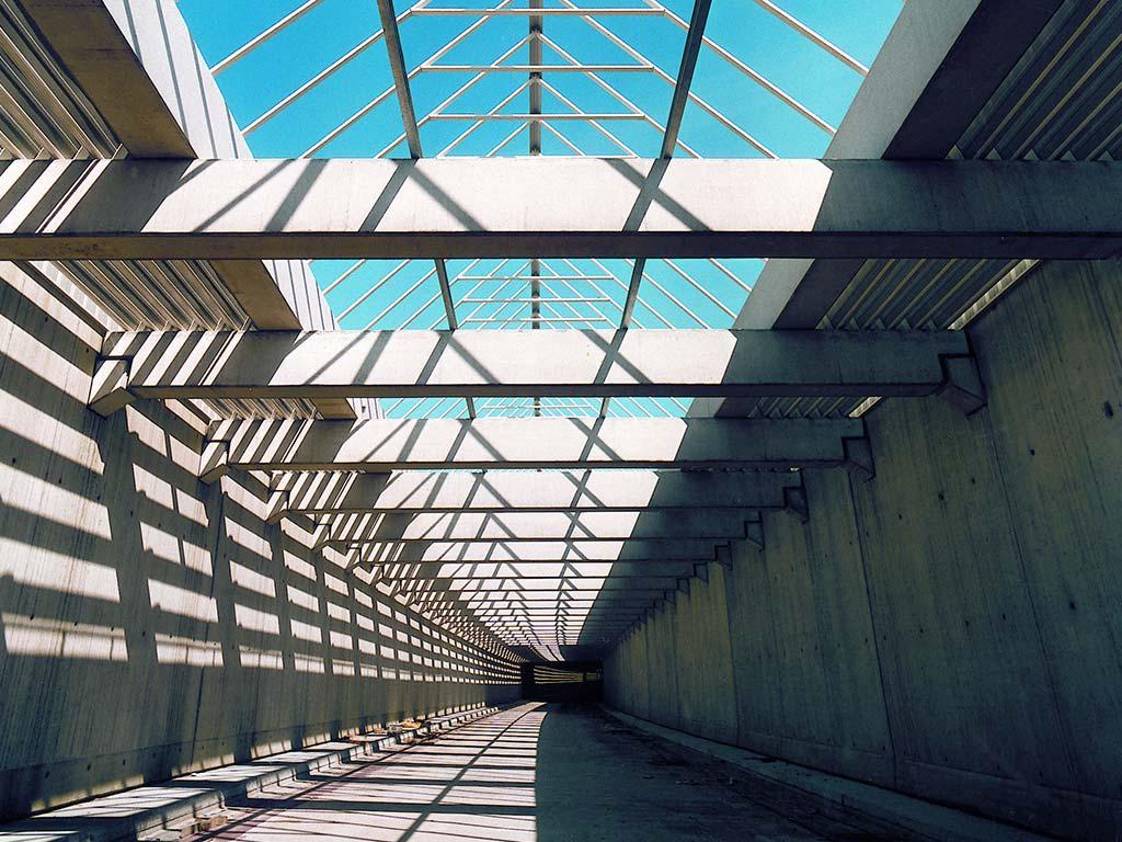 Lärmschutztunnel an der A33 in Dissen
