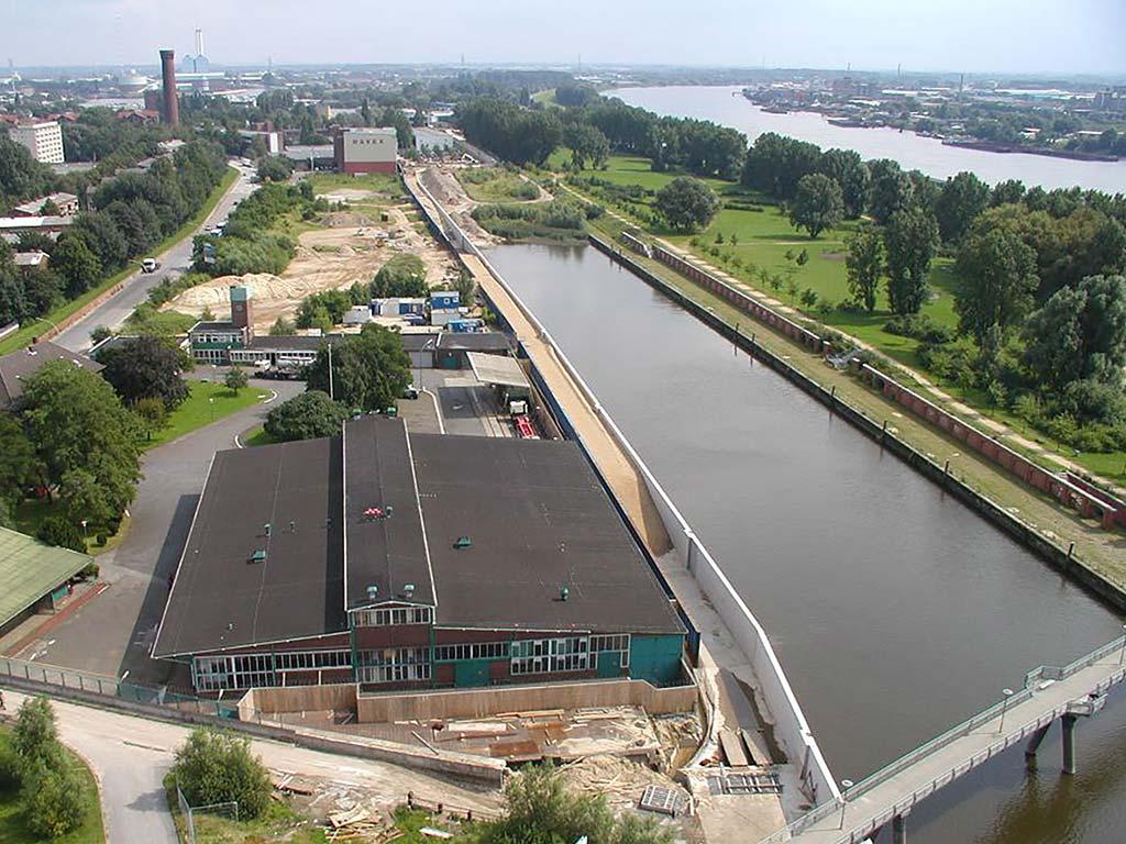 Billwerder Deich in Hamburg