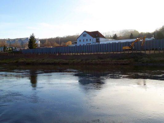 Hochwasserschutzanlagen Heidenau
