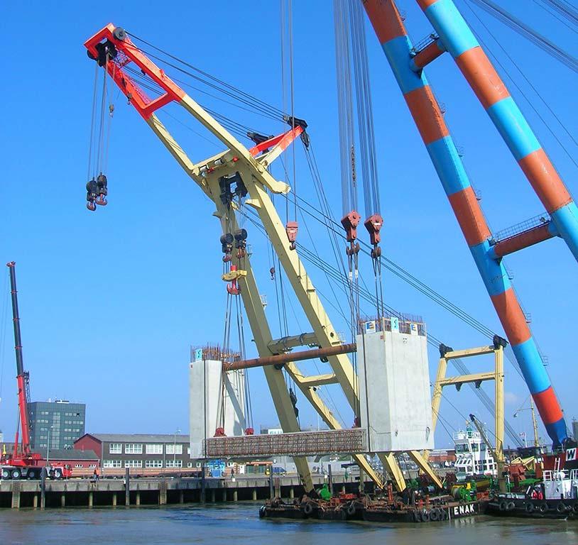 Sperrwerk in Cuxhaven