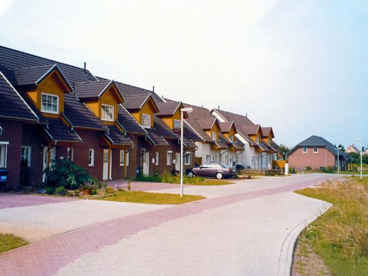 Amselwaldsiedlung in Aken