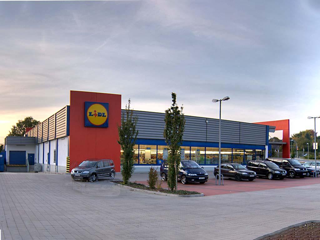 Gewerbegebiet in Blankenburg
