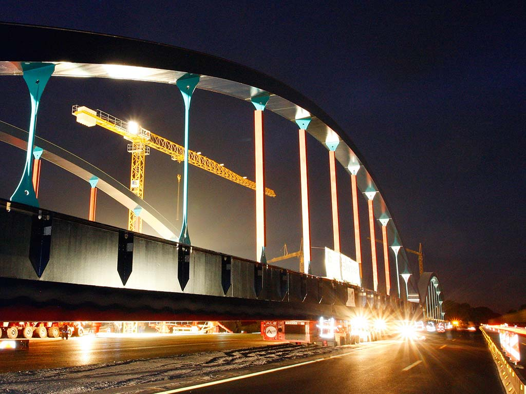 Brücke A1 Amelsbüren (Vorschub)