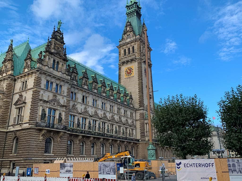 Hamburg Rathausplatz (barrierefreier Ausbau)